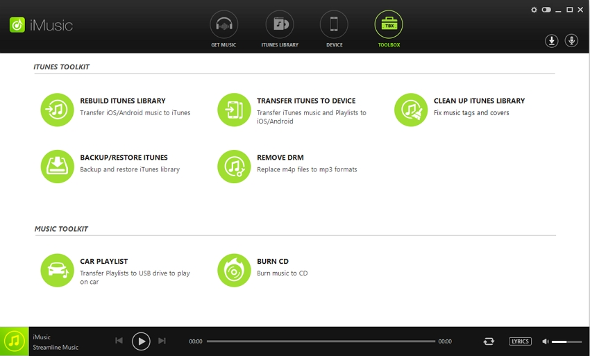 iTunes music library-scan itunes