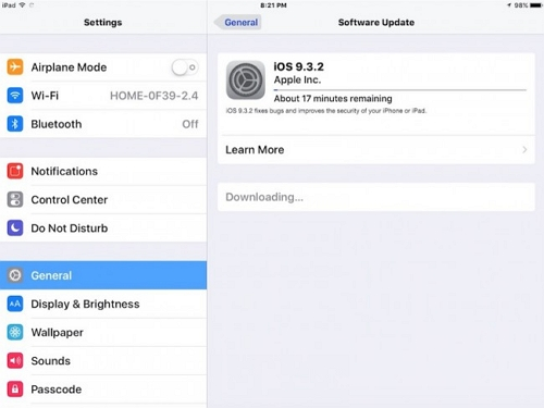 All commen iOS 9 problems and how to fix these issues-Device freezes while updating