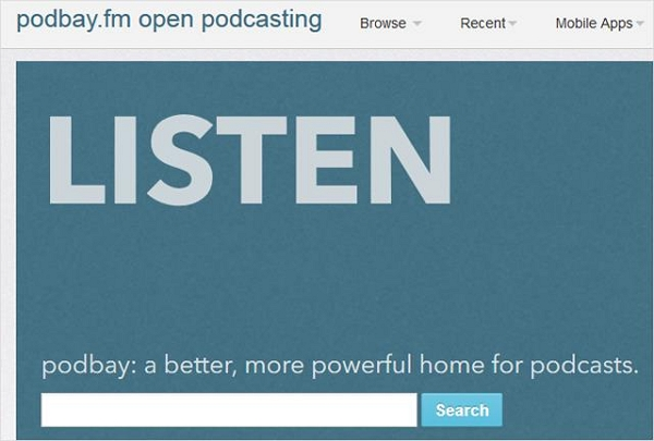 How to Download Podcasts without iTunes-PodbayFm