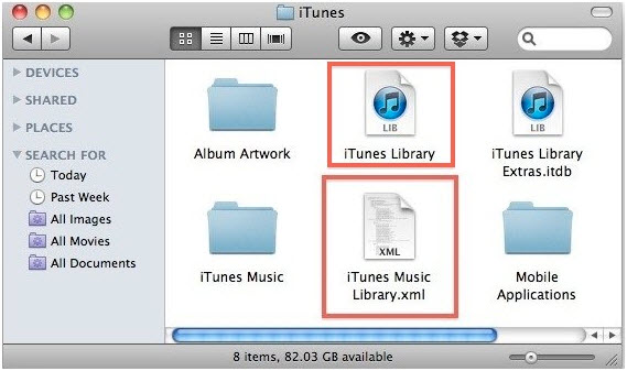 itunes library disappeared-restore iTunes Playlists-Music library.xml