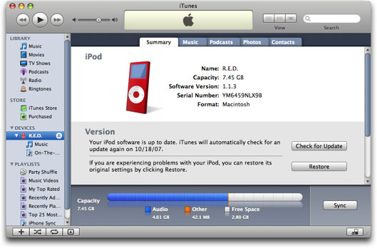 How to Backup iPod to iTunes?