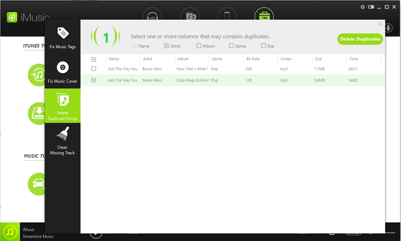 Remove duplicate from iTunes library-Delete duplicate songs