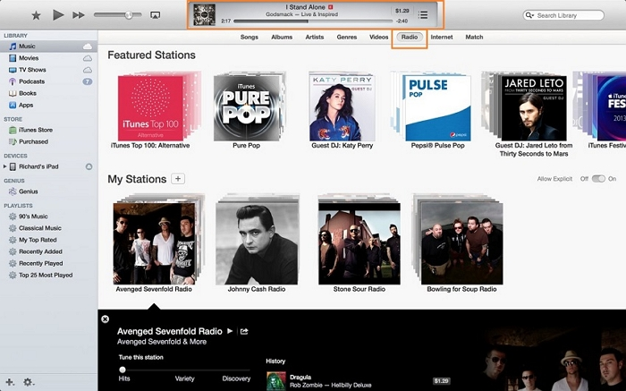 How to download music from itunes radio-play itunes radio