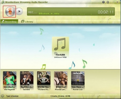 How to record online music and tranfer to iTunes-Record Online Music