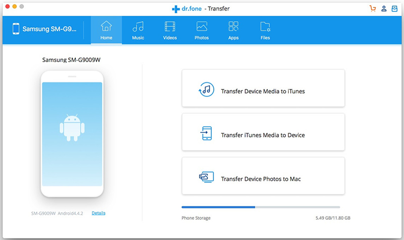 itunes to android transfer