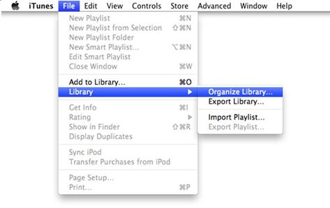 transfer itunes library from mac to pc