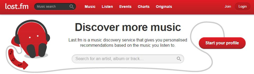 mp3 website download Last.fm