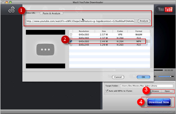 MacX YouTube Musik-Downloader