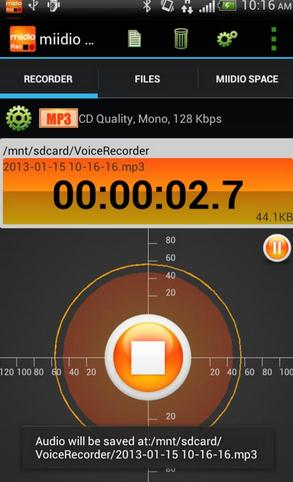 android music recording app