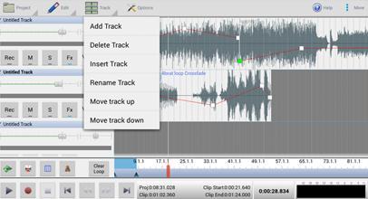 aplicativo para gravar musicas