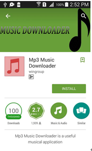 mp3 music downloader by wingroup