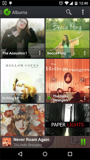 mp3 player app for android