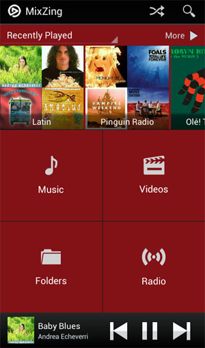 mp3 player app android