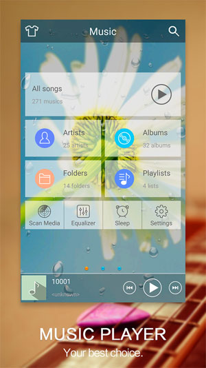android mp3 player app free