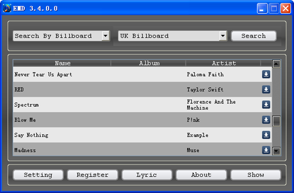 10 free online music downloader - Easy Music Downloader