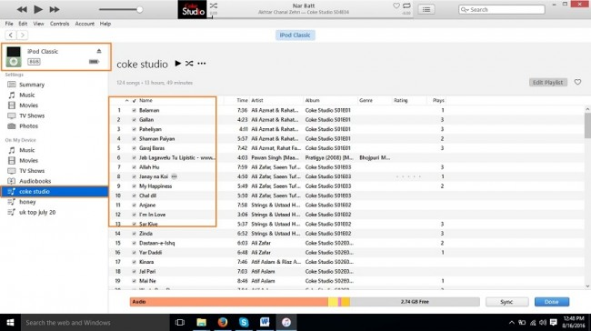 How to download music to iPod-launch itunes
