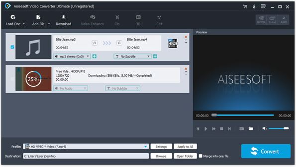 Tumblr Music Downloader - Aiseesoft Video Converter Ultimate