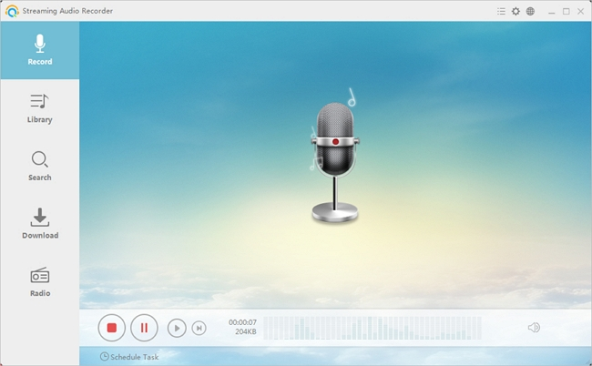 Download Music from Tumblr - Apowersoft Audio Recorder