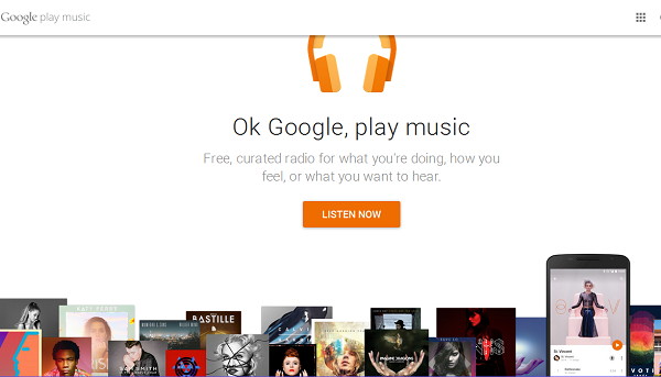5 ways to download music free - Using Google Play Music