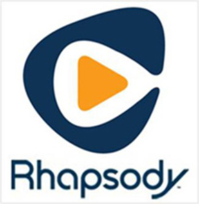 music downloader apps - Rhapsody