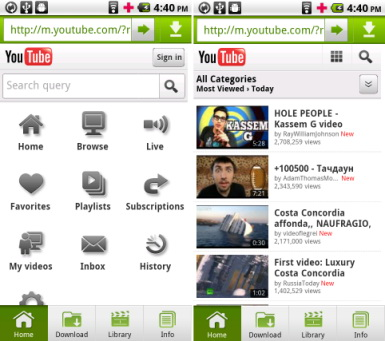 Top 5 youtube music downloader for Android