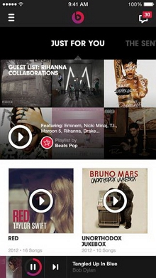 Top 10 MP3 music downloader for Android - Beats Music