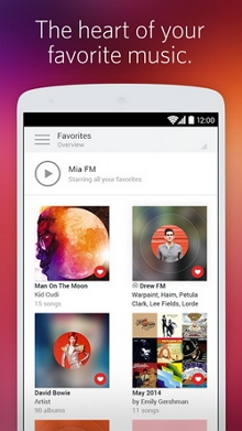 Top 10 MP3 music downloader for Android - Rdio Music