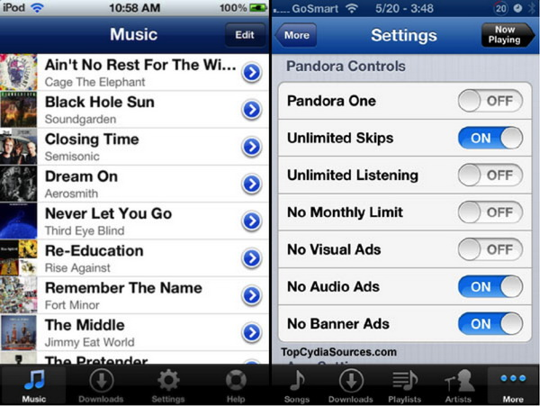 Top 5 pandora music downloader