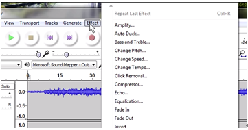 edit your recording