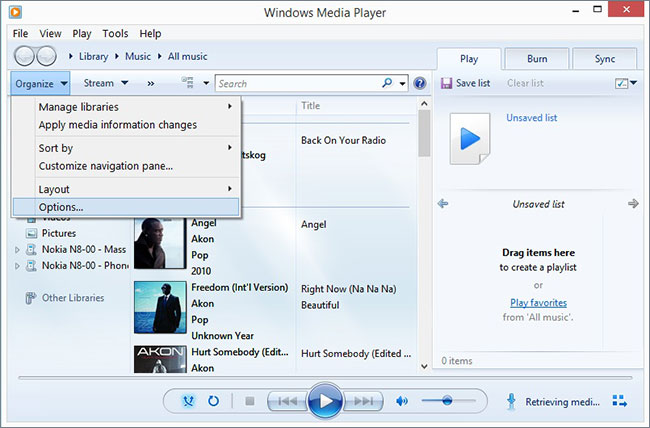 How To Rip CD With Windows Media Player