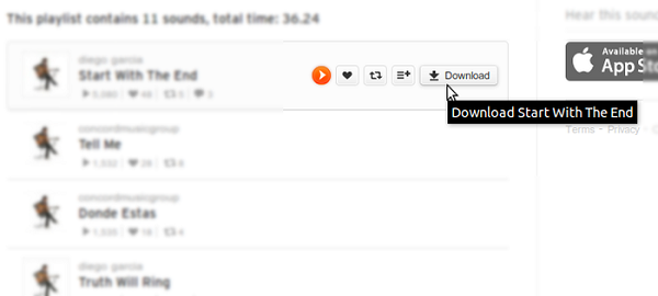 SoundCloud Downloader Firefox Addon