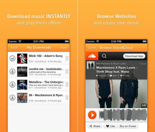 Soundcloud soundcloud is one of the best free music download sites in