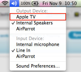spotify airplay