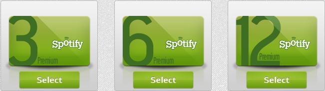 spotify premium code generator