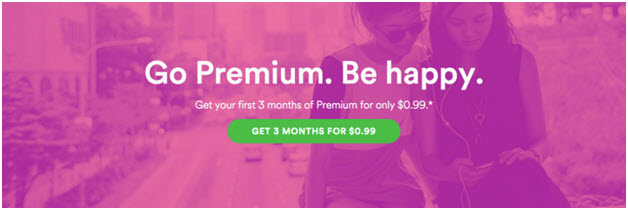 Listen to Spotify Music Free Via Spotify 3 Months Free