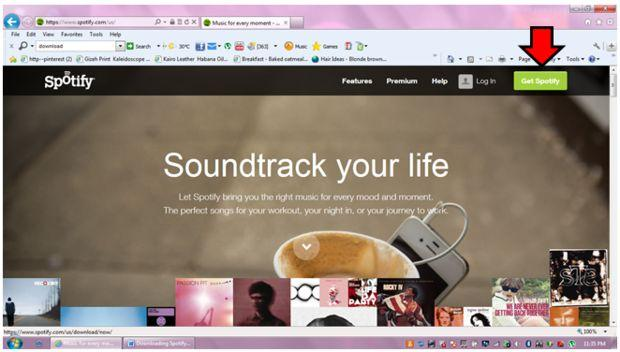 How to Download Spotify Music on PC-get spotify