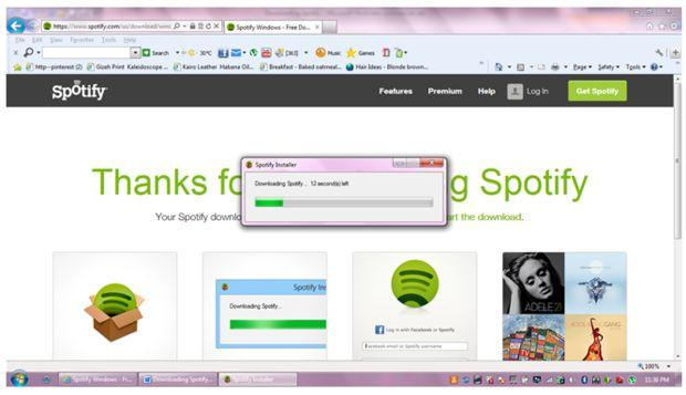 How to Download Spotify Music on PC-download
