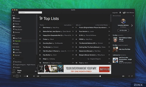 Spotify Client for windows mac linux iOS Android-Client for Mac OS