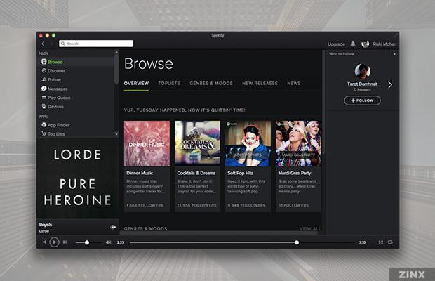 Spotify for Mac-How to Update Spotify Mac