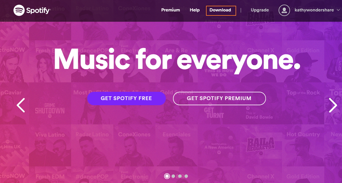 Download and Install Spotify on your Computer