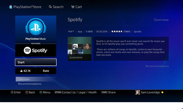 how does spotify work-How Spotify Works on PS4
