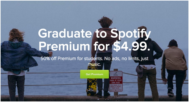 How to get spotify student discount