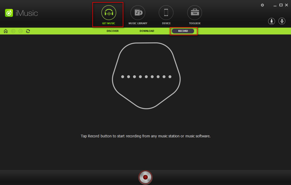 How to Record Music from Spotify with iMusic