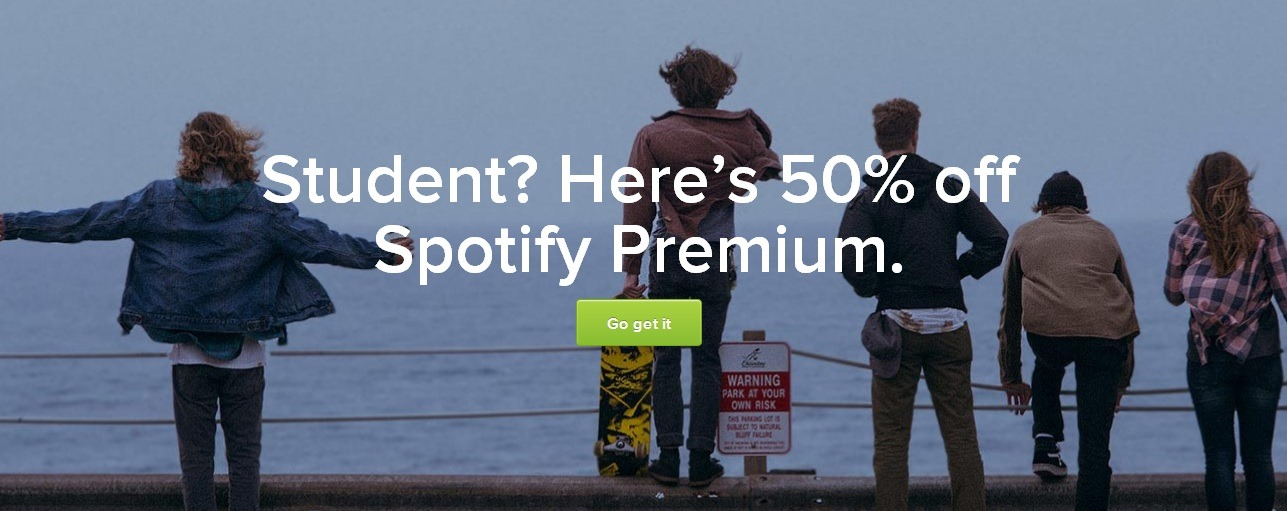 Spotify Student Discount
