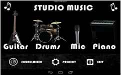 studio music-garage band