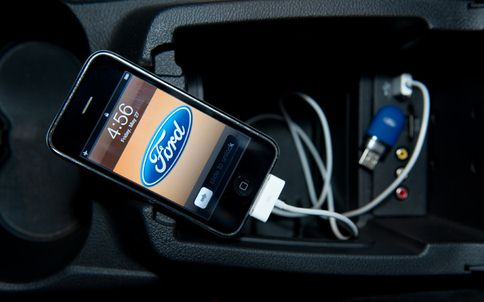 Conecta el iPhone a Ford Sync con USB