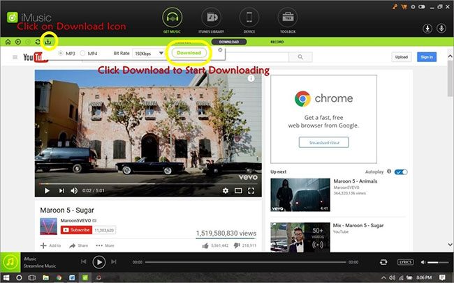 download youtube music