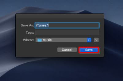 Create a New iTunes Library-choose what you want to save