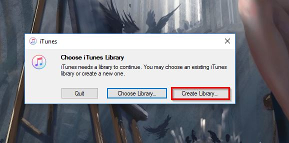 3 Useful Solutions to Create a New iTunes Library