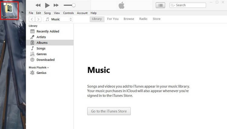 Create a New iTunes Library-use your new library